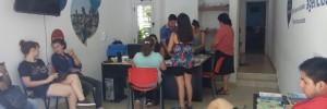 Visita estudiantes Agencia