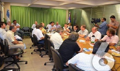 """""""Juntos impulsamos un modelo de crecimiento inédito en nuestra ciudad"""", dijo Franco"""