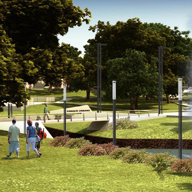 Puesta en valor del futuro Parque Urbano Sarmiento resaltará la belleza escénica de la región