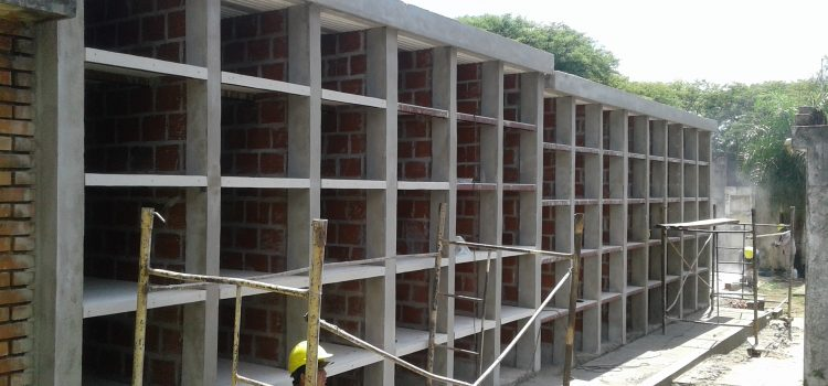 70 nichos cajón Cementerio la Piedad