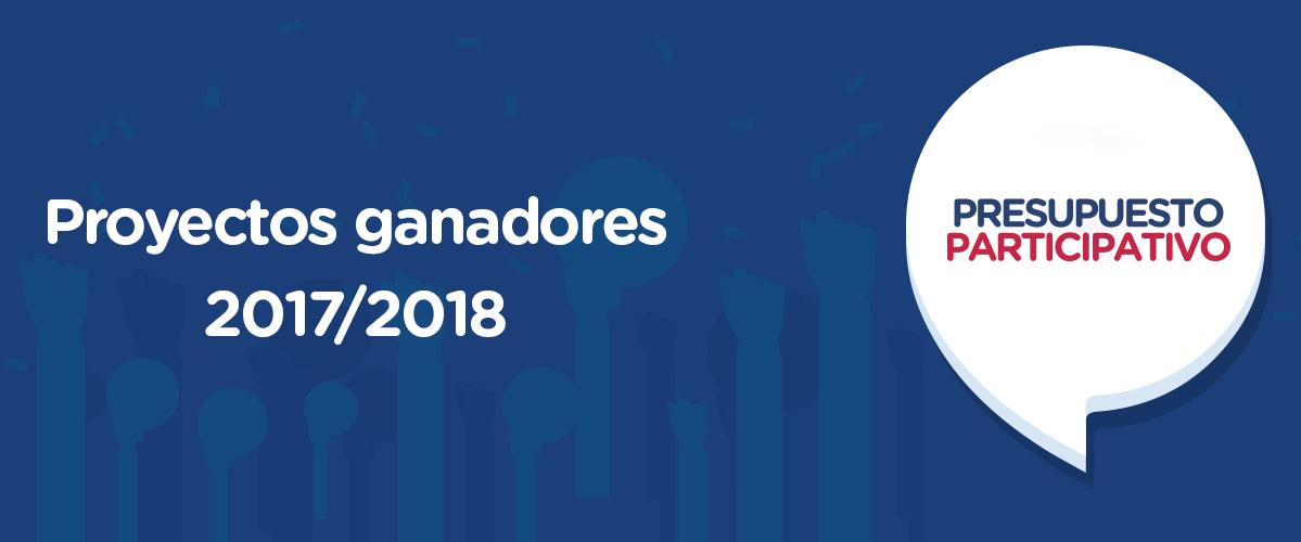 Diseño proyectos ganadores 2017 2018