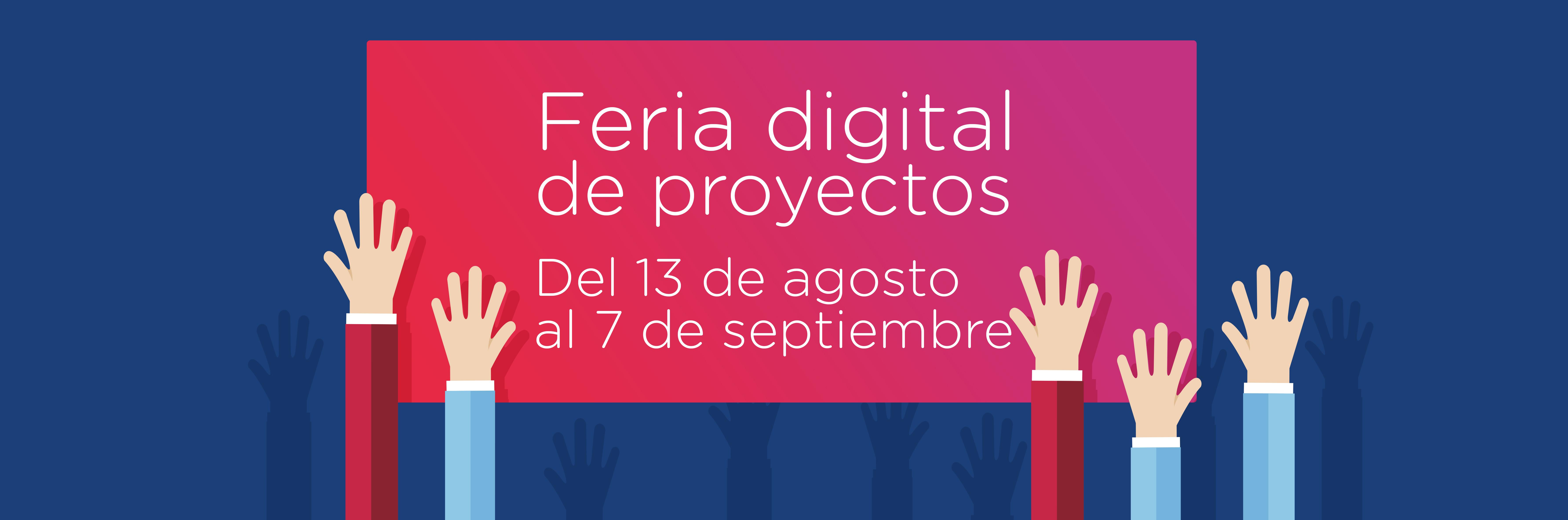 Feria de proyectos digital baner chico