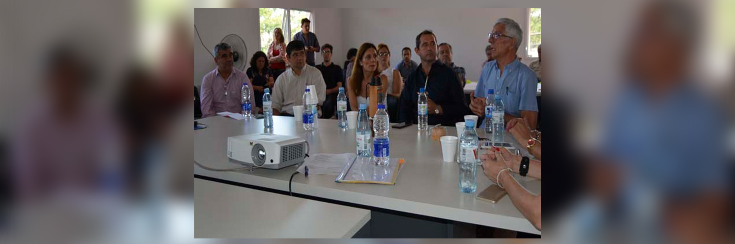 Intendentes del área metropolitana se reunieron en Candelaria para avanzar en proyectos en común