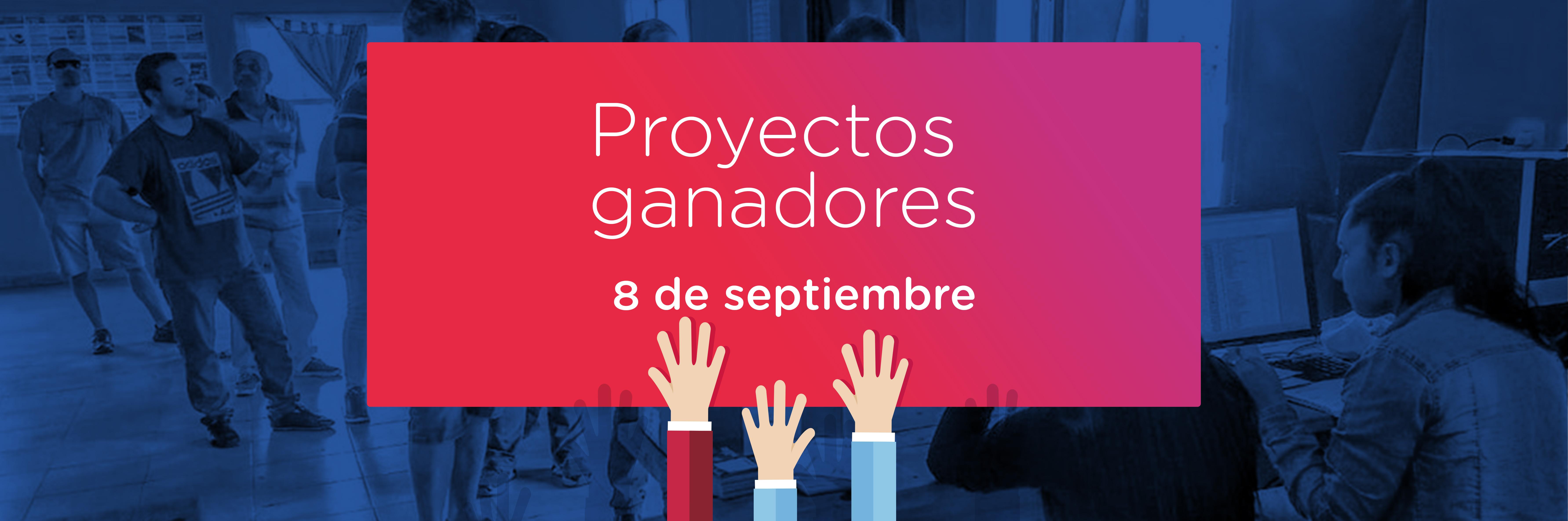 Proyectos ganadores 10 de septiembre 003
