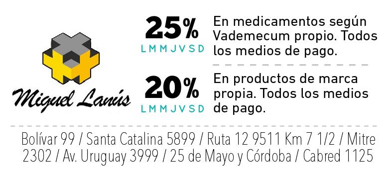 Farmacias Miguél Lanus